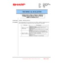 Sharp MX-6500N, MX-7500N (serv.man119) Technical Bulletin