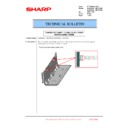 Sharp MX-6500N, MX-7500N (serv.man123) Technical Bulletin