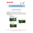 Sharp MX-6500N, MX-7500N (serv.man130) Technical Bulletin