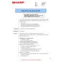 Sharp MX-6500N, MX-7500N (serv.man132) Technical Bulletin
