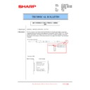 Sharp MX-6500N, MX-7500N (serv.man134) Technical Bulletin