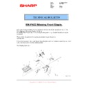 Sharp MX-6500N, MX-7500N (serv.man135) Technical Bulletin