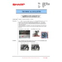Sharp MX-6500N, MX-7500N (serv.man136) Technical Bulletin