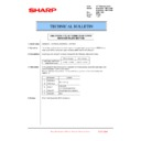 Sharp MX-6500N, MX-7500N (serv.man140) Technical Bulletin