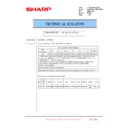 Sharp MX-6500N, MX-7500N (serv.man141) Technical Bulletin