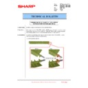 Sharp MX-6500N, MX-7500N (serv.man144) Technical Bulletin