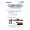 Sharp MX-6500N, MX-7500N (serv.man146) Technical Bulletin