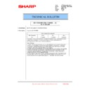 Sharp MX-6500N, MX-7500N (serv.man147) Technical Bulletin