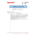 Sharp MX-6500N, MX-7500N (serv.man148) Technical Bulletin