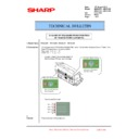 Sharp MX-6500N, MX-7500N (serv.man89) Technical Bulletin