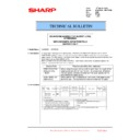 Sharp MX-6500N, MX-7500N (serv.man97) Technical Bulletin