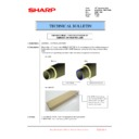 Sharp MX-6500N, MX-7500N (serv.man98) Technical Bulletin