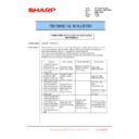 Sharp MX-6500N, MX-7500N (serv.man99) Technical Bulletin