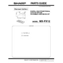 Sharp MX-B201D (serv.man10) Parts Guide