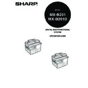 Sharp MX-B201D (serv.man13) User Guide / Operation Manual