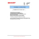 Sharp MX-B201D (serv.man32) Technical Bulletin