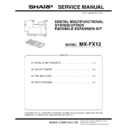 Sharp MX-B201D (serv.man6) Service Manual