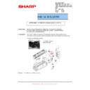 Sharp MX-C380P, MX-C400P, MX-B380P, MX-B382P, MX-B400P (serv.man15) Technical Bulletin