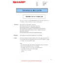 Sharp MX-C380P, MX-C400P, MX-B380P, MX-B382P, MX-B400P (serv.man18) Technical Bulletin