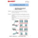 Sharp MX-C380P, MX-C400P, MX-B380P, MX-B382P, MX-B400P (serv.man23) Technical Bulletin