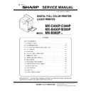 Sharp MX-C380P, MX-C400P, MX-B380P, MX-B382P, MX-B400P (serv.man6) Service Manual