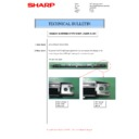 Sharp MX-M266N, MX-M316N, MX-M356N (serv.man105) Technical Bulletin