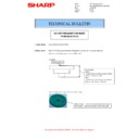 Sharp MX-M266N, MX-M316N, MX-M356N (serv.man109) Technical Bulletin