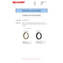 Sharp MX-M266N, MX-M316N, MX-M356N (serv.man114) Technical Bulletin