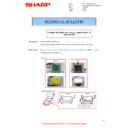 Sharp MX-M266N, MX-M316N, MX-M356N (serv.man125) Technical Bulletin