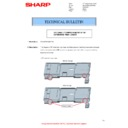 Sharp MX-M266N, MX-M316N, MX-M356N (serv.man129) Technical Bulletin