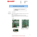 Sharp MX-M266N, MX-M316N, MX-M356N (serv.man134) Technical Bulletin