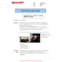 Sharp MX-M266N, MX-M316N, MX-M356N (serv.man141) Technical Bulletin