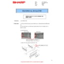 Sharp MX-M266N, MX-M316N, MX-M356N (serv.man142) Technical Bulletin