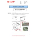 Sharp MX-M266N, MX-M316N, MX-M356N (serv.man144) Technical Bulletin