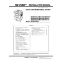 Sharp MX-M266N, MX-M316N, MX-M356N (serv.man4) Service Manual