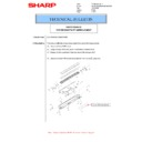 Sharp MX-M266N, MX-M316N, MX-M356N (serv.man47) Technical Bulletin