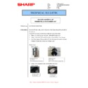 Sharp MX-M266N, MX-M316N, MX-M356N (serv.man49) Technical Bulletin