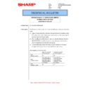 Sharp MX-M266N, MX-M316N, MX-M356N (serv.man50) Technical Bulletin