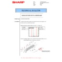 Sharp MX-M266N, MX-M316N, MX-M356N (serv.man52) Technical Bulletin
