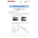 Sharp MX-M266N, MX-M316N, MX-M356N (serv.man55) Technical Bulletin