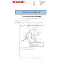 Sharp MX-M266N, MX-M316N, MX-M356N (serv.man66) Technical Bulletin