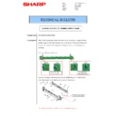Sharp MX-M266N, MX-M316N, MX-M356N (serv.man70) Technical Bulletin
