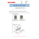 Sharp MX-M266N, MX-M316N, MX-M356N (serv.man72) Technical Bulletin