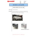 Sharp MX-M266N, MX-M316N, MX-M356N (serv.man73) Technical Bulletin