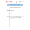 Sharp MX-M266N, MX-M316N, MX-M356N (serv.man77) Technical Bulletin