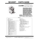Sharp MX-M266N, MX-M316N, MX-M356N (serv.man8) Parts Guide