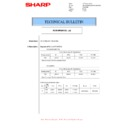 Sharp MX-M266N, MX-M316N, MX-M356N (serv.man83) Technical Bulletin