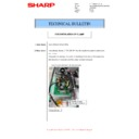 Sharp MX-M266N, MX-M316N, MX-M356N (serv.man86) Technical Bulletin