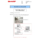 Sharp MX-M266N, MX-M316N, MX-M356N (serv.man88) Technical Bulletin