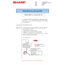 Sharp MX-M266N, MX-M316N, MX-M356N (serv.man90) Technical Bulletin